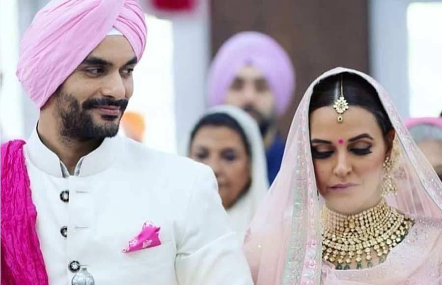 Angad Bedi and Neha Dhupia's wedding album
