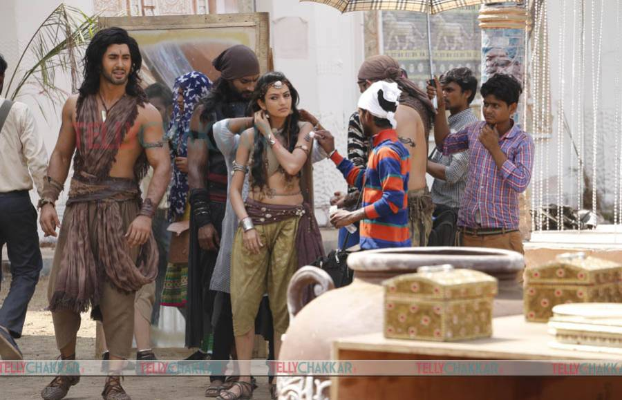 Exclusive: Candid moments from the sets of Sony TV's Porus