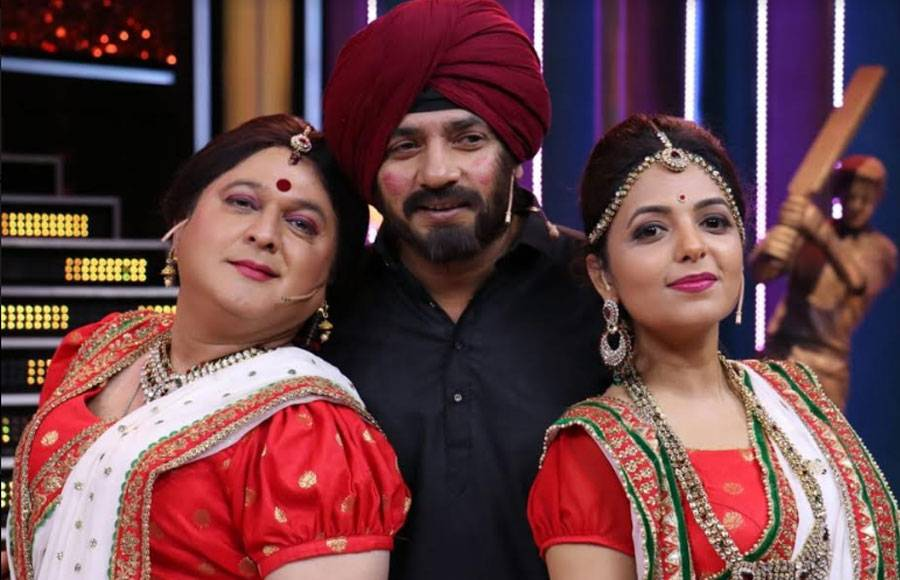 From the sets of Colors' Jio Dhan Dhana Dhan