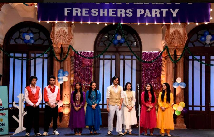In pics: Freshers party in Yeh Un Dinon Ki Baat Hai