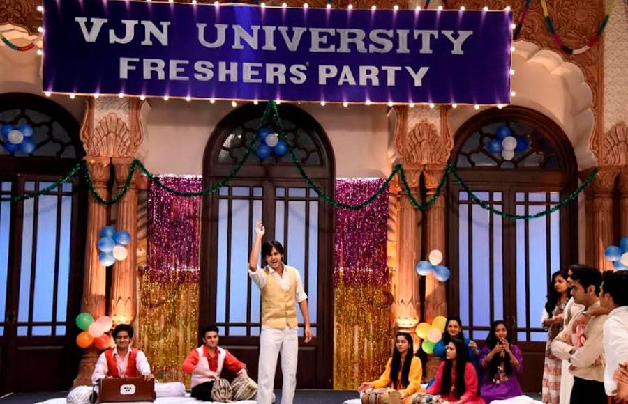 In pics: Freshers party in Yeh Un Dinon Ki Baat Hai