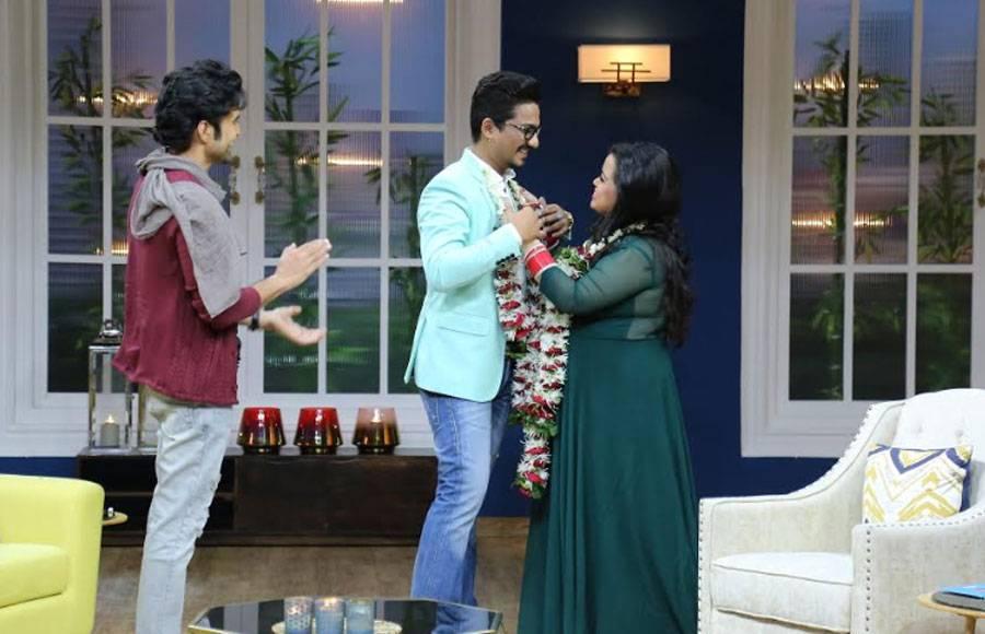 Bharti Singh and Rajeev Khandelwal's camaraderie in JuzzBaatt