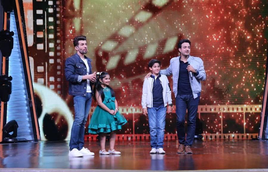 Mahhi Vij and kids surprise Jay Bhanushali on DID Li'l Masters