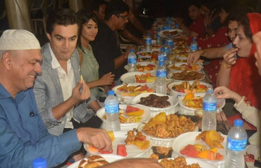 Iftaar celebration on the sets of Yeh Rishta