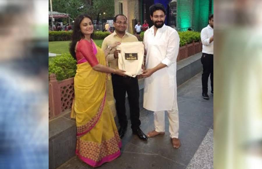 Mere Sai actors visit Shirdi