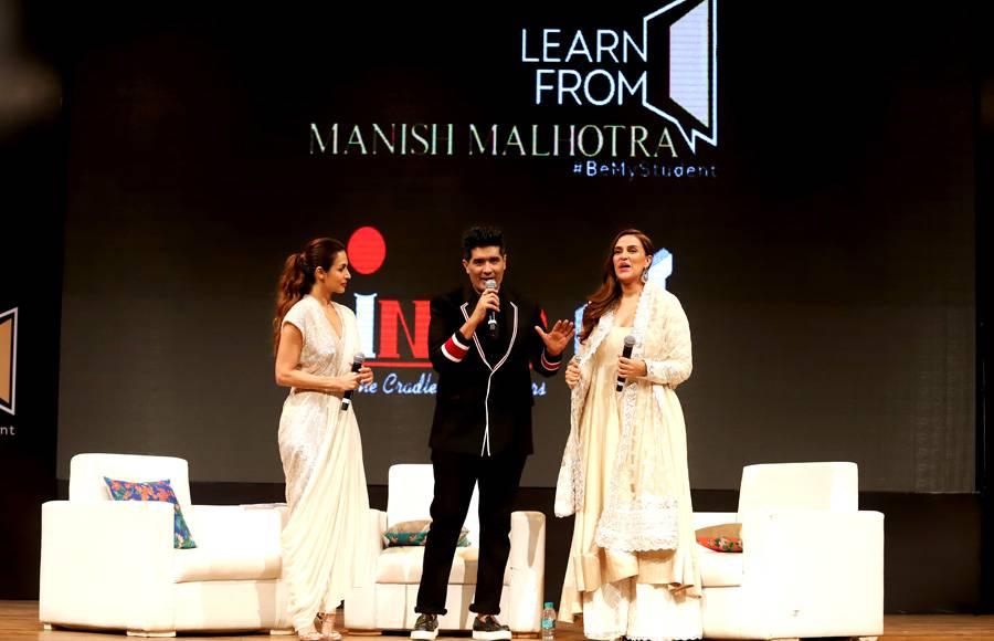Manish Malhotra, Neha Dhupia and Malaika Arora come together for INIFD