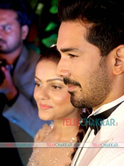 Rubina Dilaik-Abhinav Shukla's star-studded wedding reception