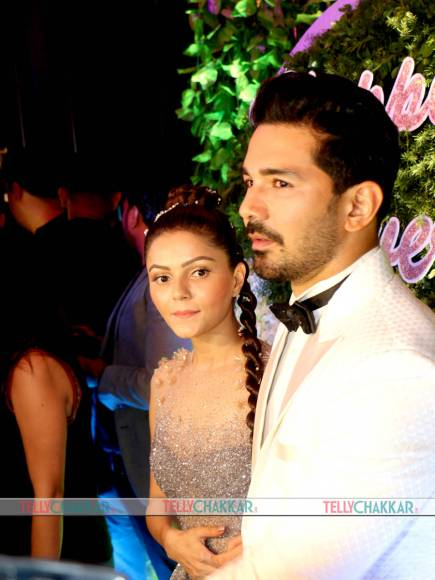 Rubina Dilaik-Abhinav Shukla's star-studded wedding reception