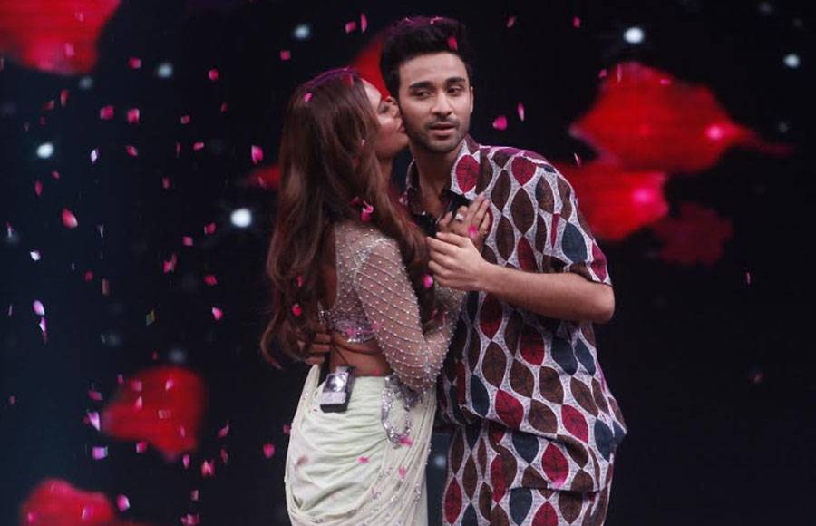Raghav Juyal and Punit Pathak on the sets of High Fever