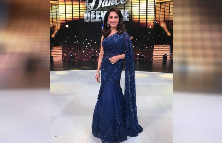 5 Different looks of Madhuri Dixit from Dance Deewane
