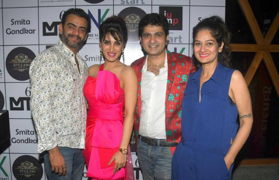 Debina Bonnerjee hosts surprise party for Bigg Boss Marathi contestant Smita Gondkar
