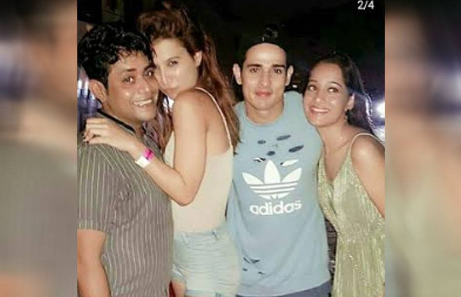 Inside Pics of Bigg Boss fame Priyank Sharma's B'day bash!