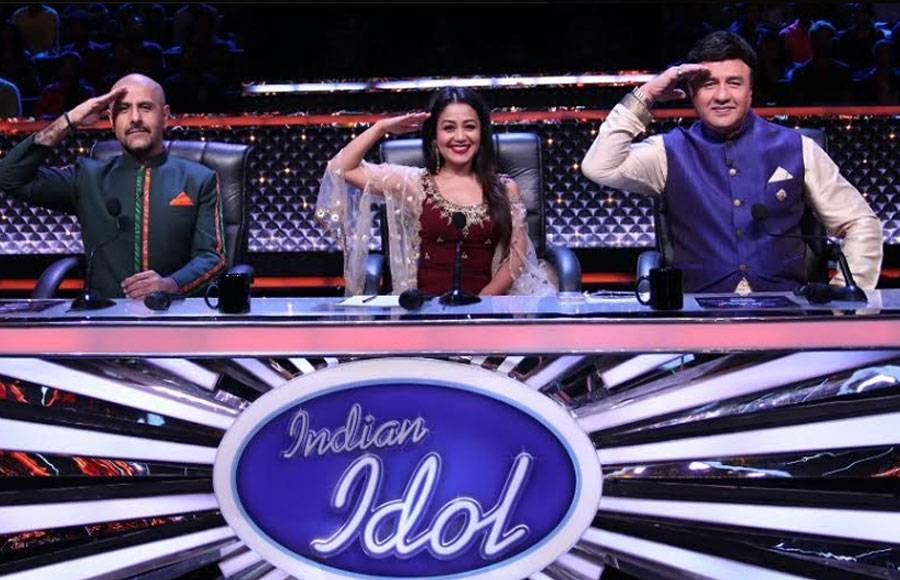 Independence Day celebration on the sets of Indian Idol 10