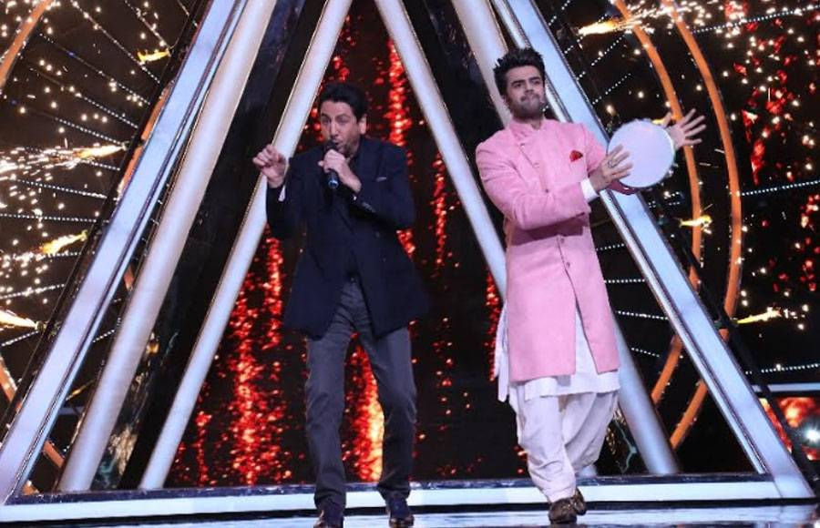 Singer Gurdas Maan's Punjabi Tadka on Indian Idol 10