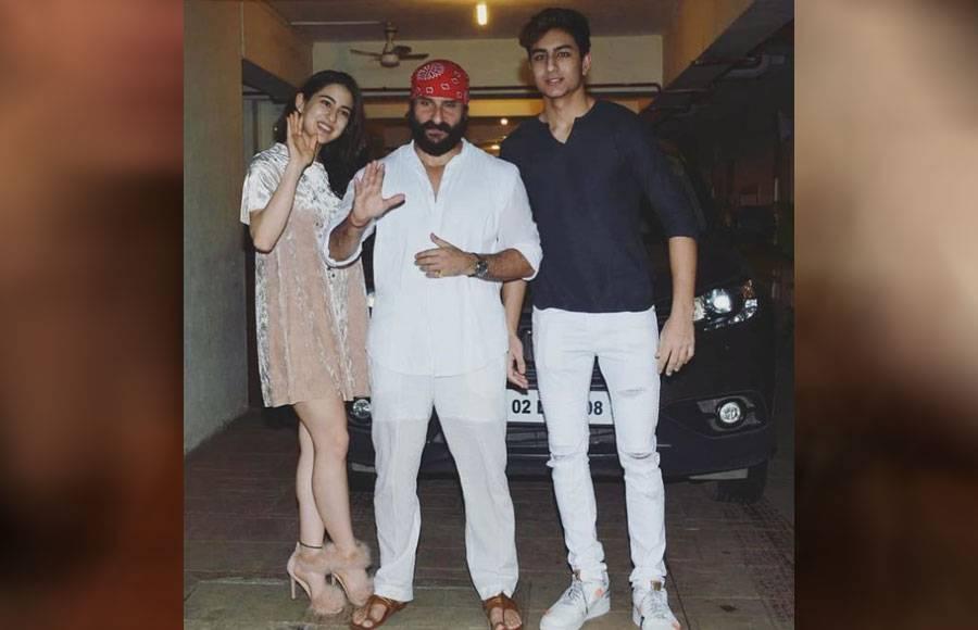 In pics: Saif Ali Khan rings in his birthday family