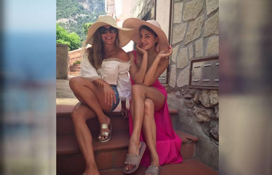 Jacqueline's escapades in Italy