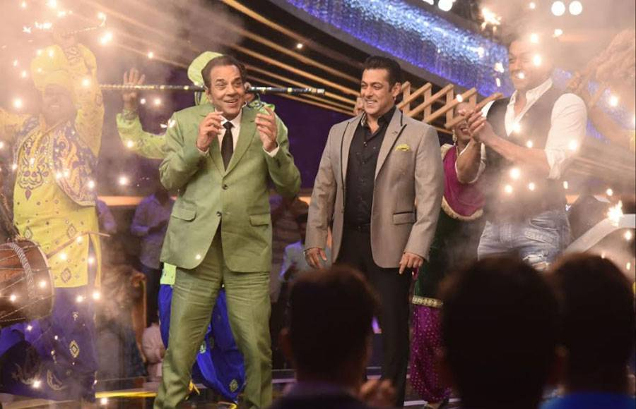 Salman Khan meets his idol on Dus Ka Dum