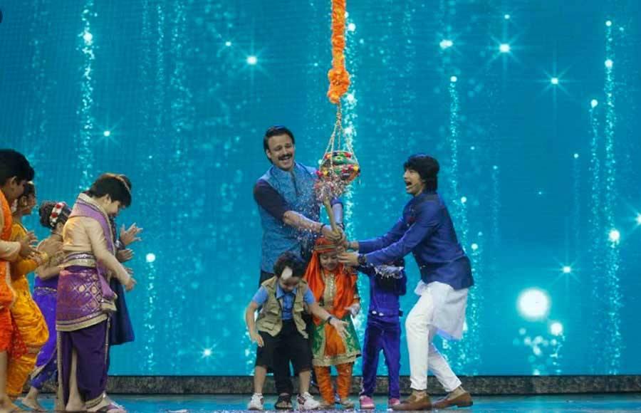 Janmashtami celebrations on India's Best Dramebaaz with Team Paltan