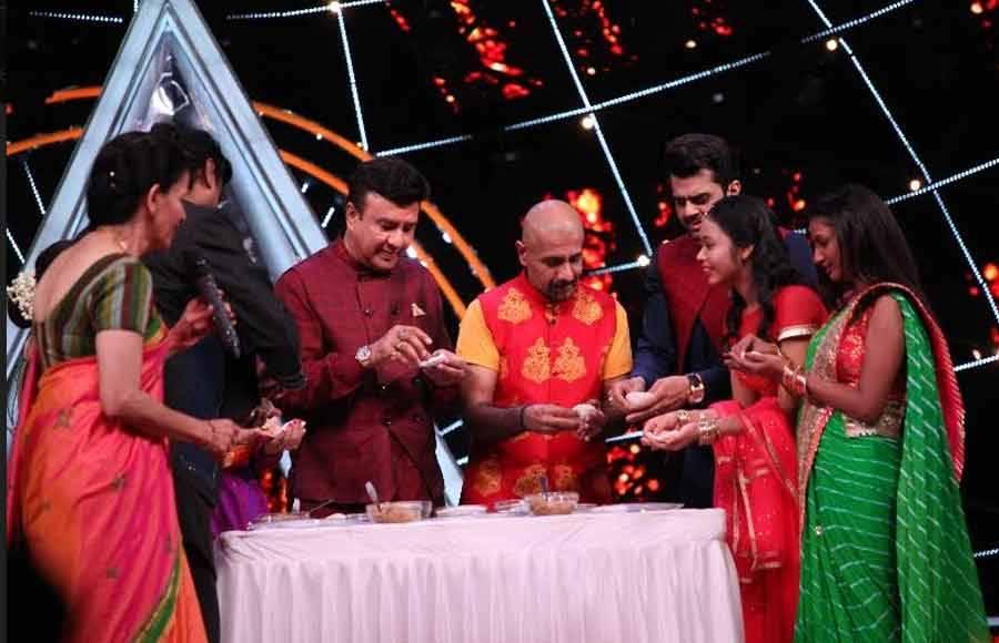 Maha Ganpati special on Indian Idol 10