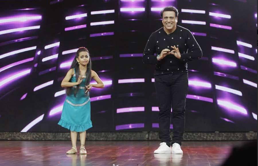 Govinda and Varun Sharma promotes Fryday at India's best dramebaaz Semi Finale