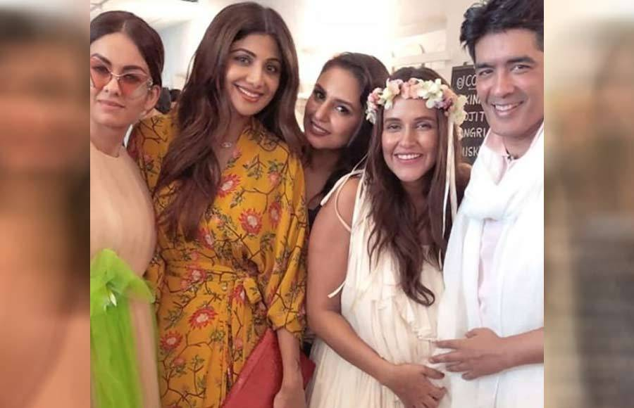 In pics: Neha Dhupia's baby shower