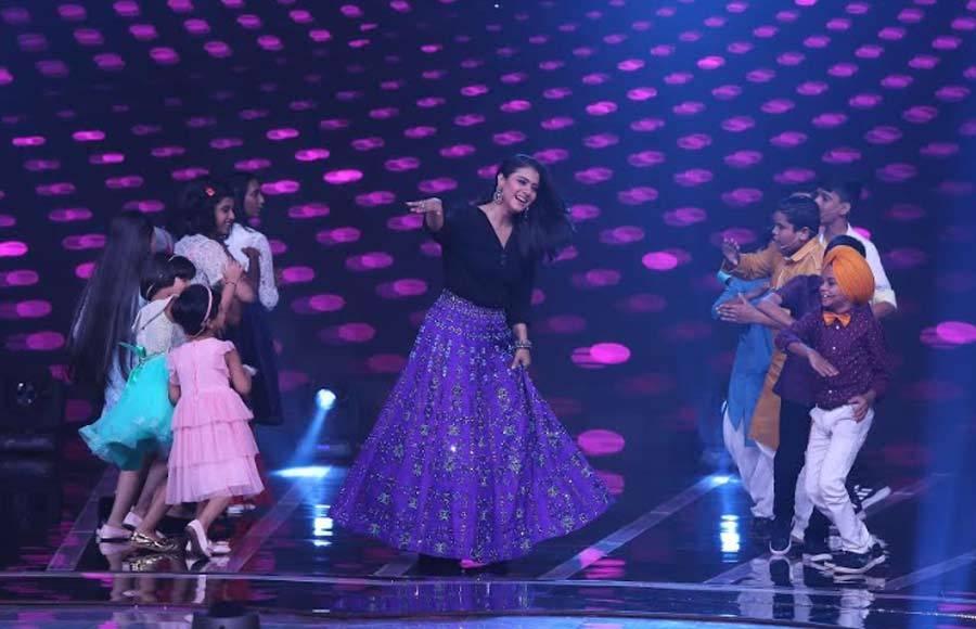 Ayushman & Kajol grace &TV's Love Me India