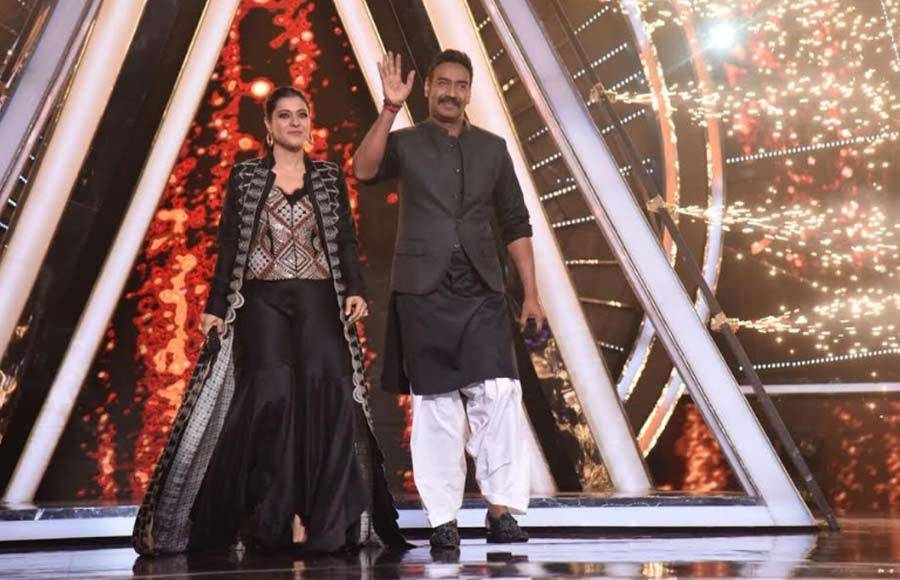 Kajol and Ajay Devgn grace Indian Idol