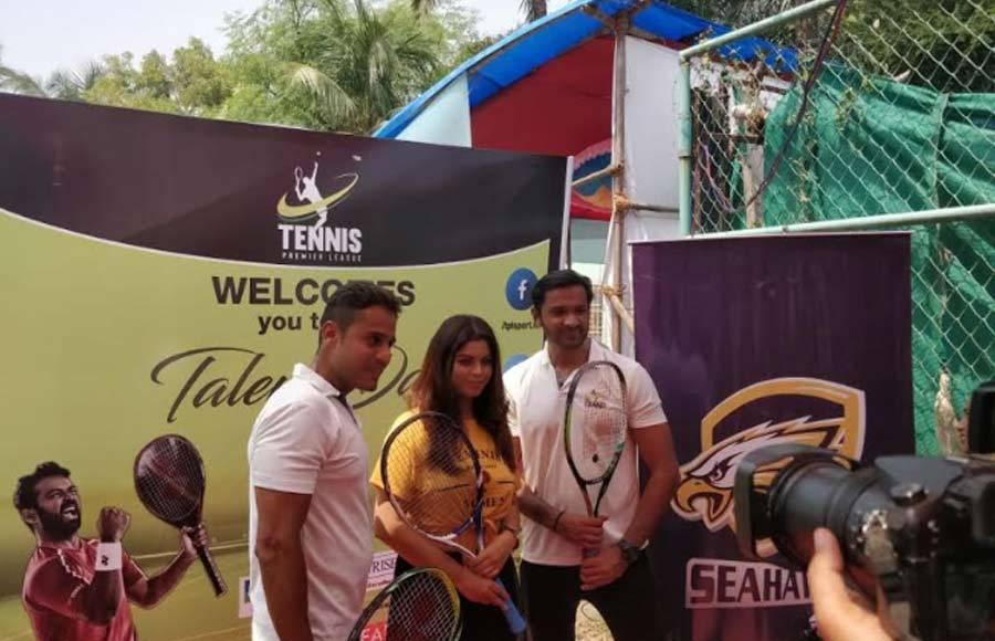 Celebs grace Tennis Premier League's talent hunt day