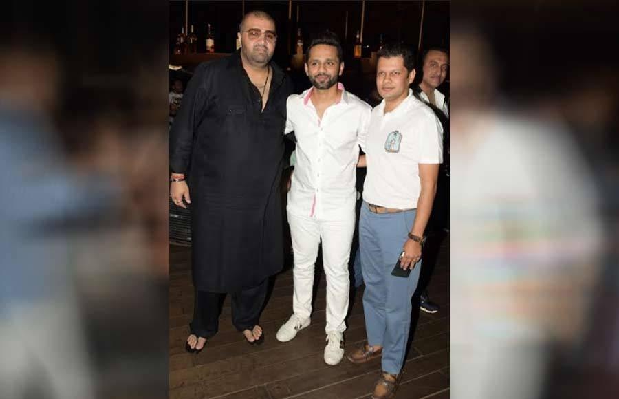 Singer Rahul Vaidya's birthday bash