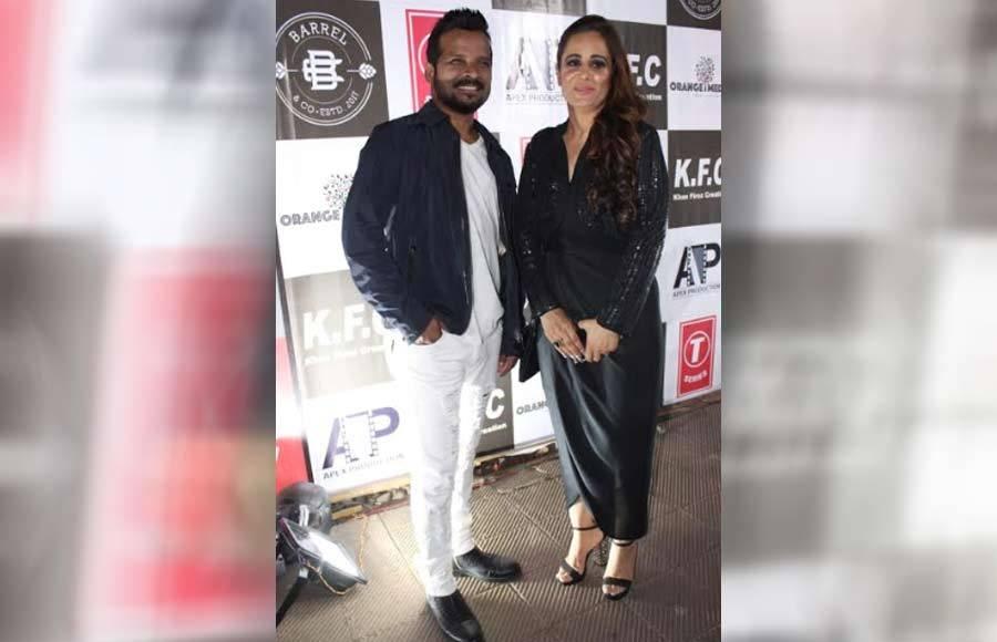 Priyank Sharma and Preetika Rao grace a music launch