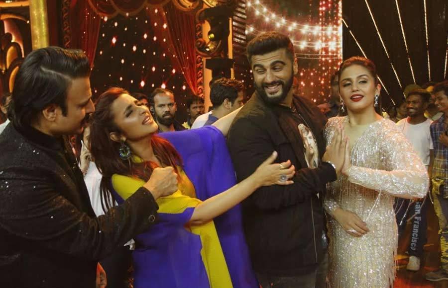 Parineeti, Ayushmann and Arjun attend India's Best Dramebaaz's grand finale!