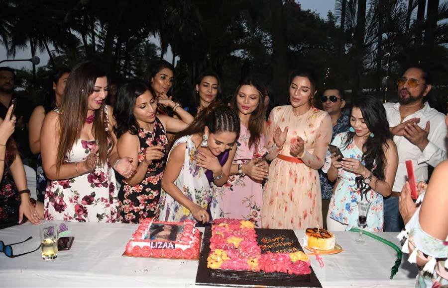 Lizaa Malik's birthday bash