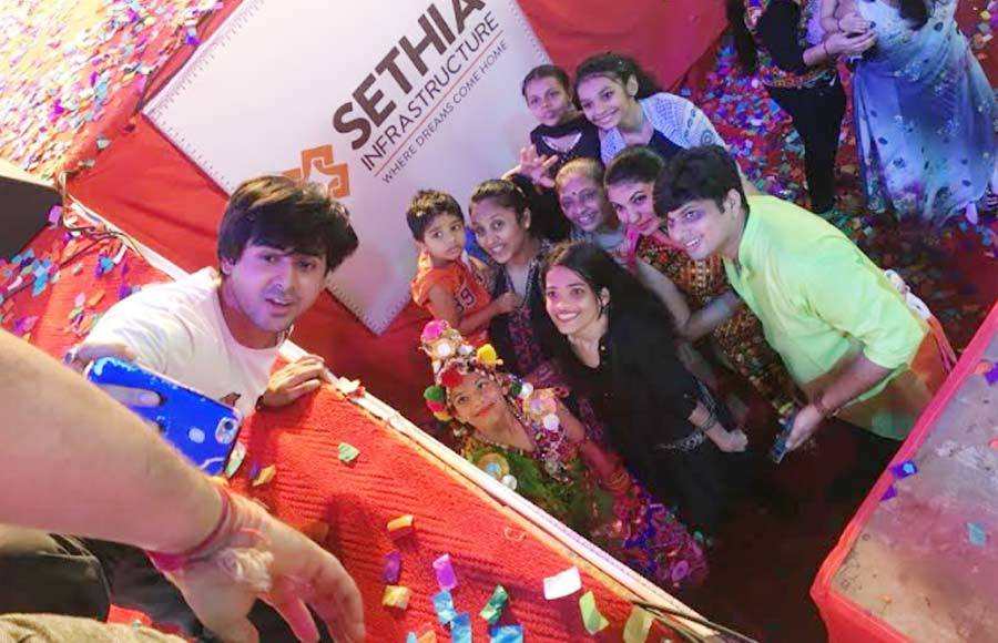 Sony TV actors groove to the dhandiya beats