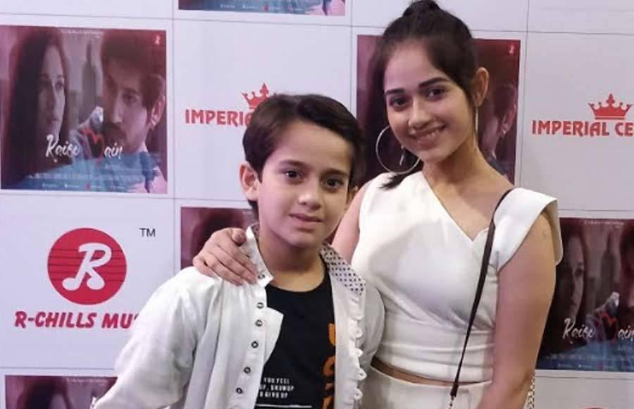 Launch of Namish Taneja and Jannat Zubair's music video 'Kaise Main'