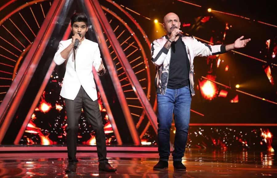 Salim and Sulaiman grace Indian Idol 10