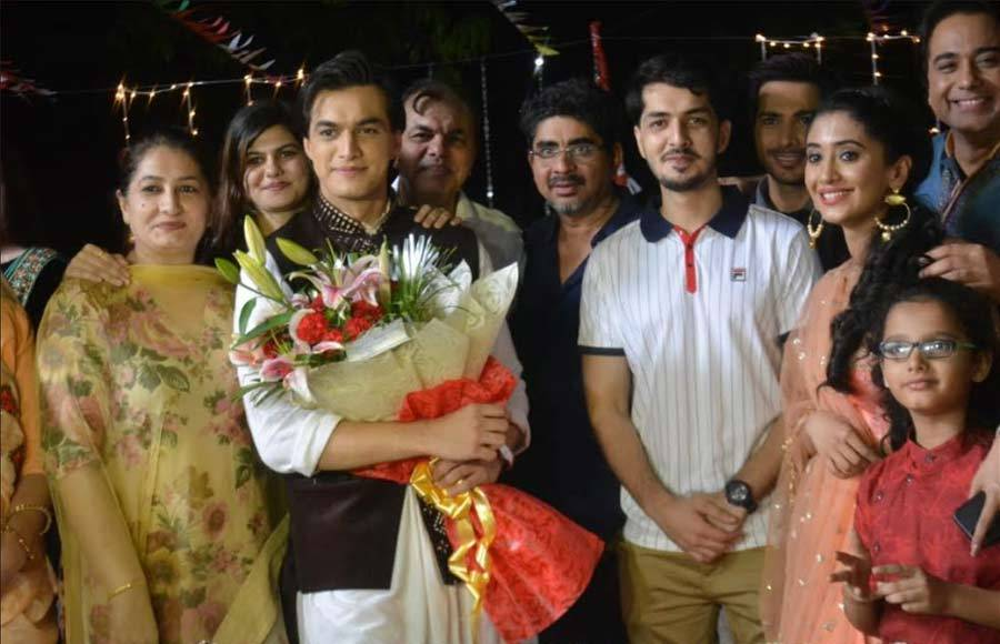 Mohsin Khan celebrates his birthday on the sets of Yeh Rishta