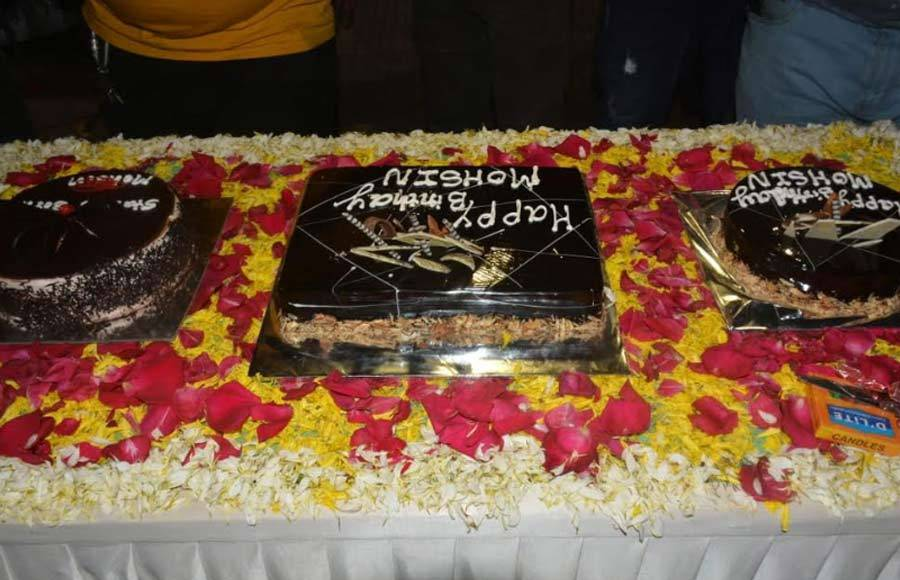 Mohsin Khan celebrates his birthday on the sets of Yeh Rishta