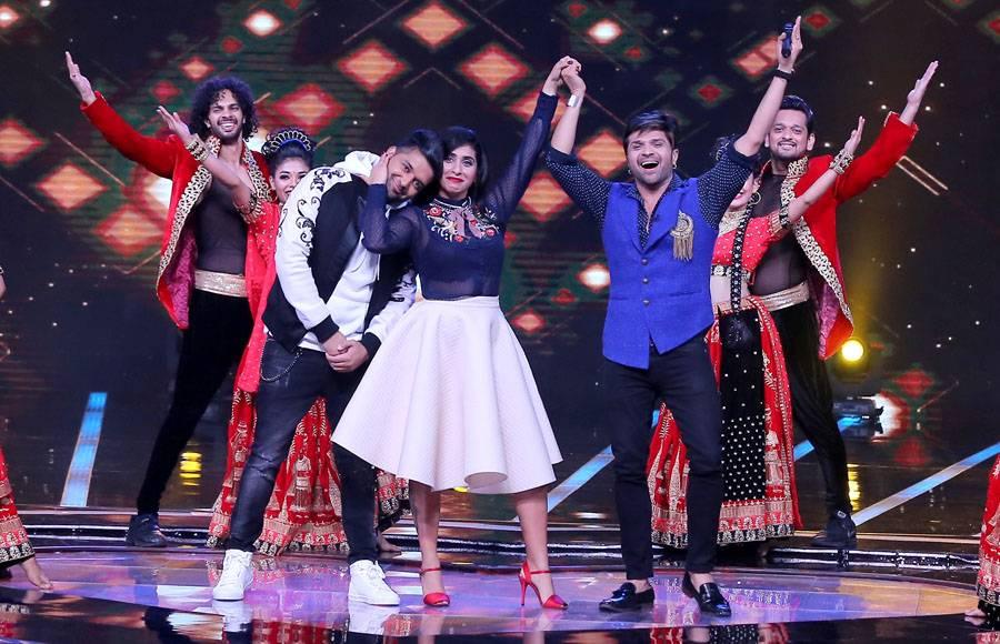 Kiku Sharda tickles the funny bones of the judges of 'Love Me India'