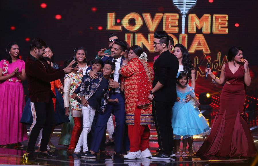 Kiku Sharda tickles the funny bones of the judges of 'Love Me India'