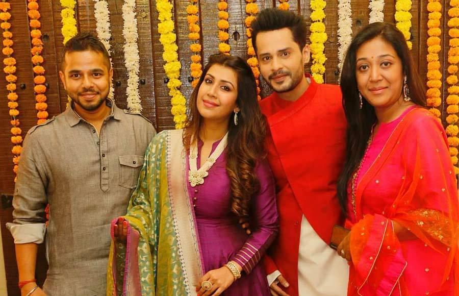 Diwali Bash at Karan Patel and Ankita Bhargava's house
