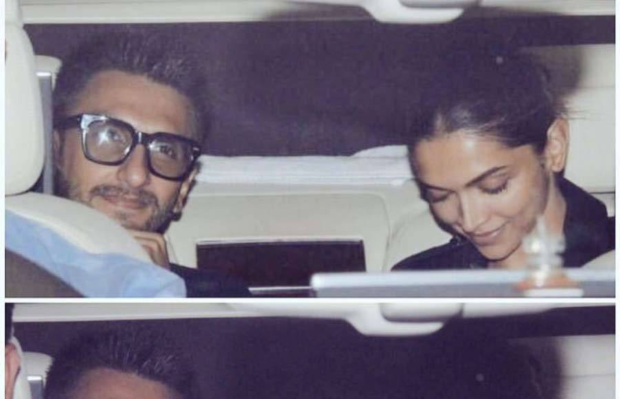 In Pics: Deepika and Ranveer gives us major couple goals