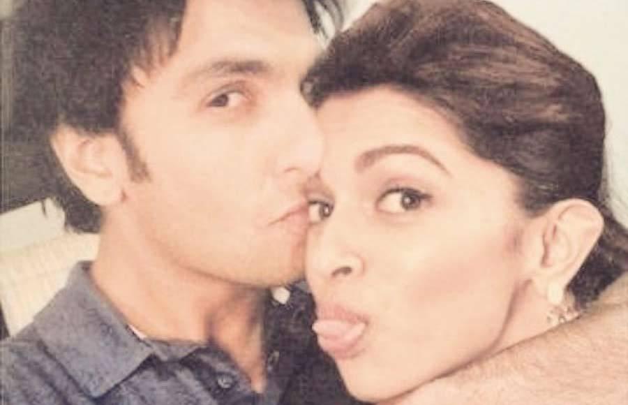 In Pics: Deepika and Ranveer gives us major couple goals