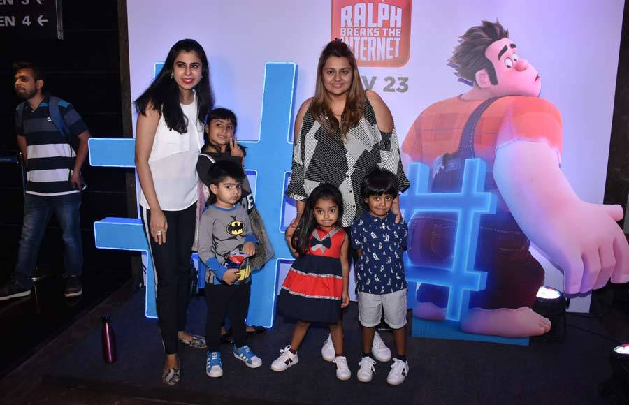 Celebs at the screening of Ralp Breaks The Internet