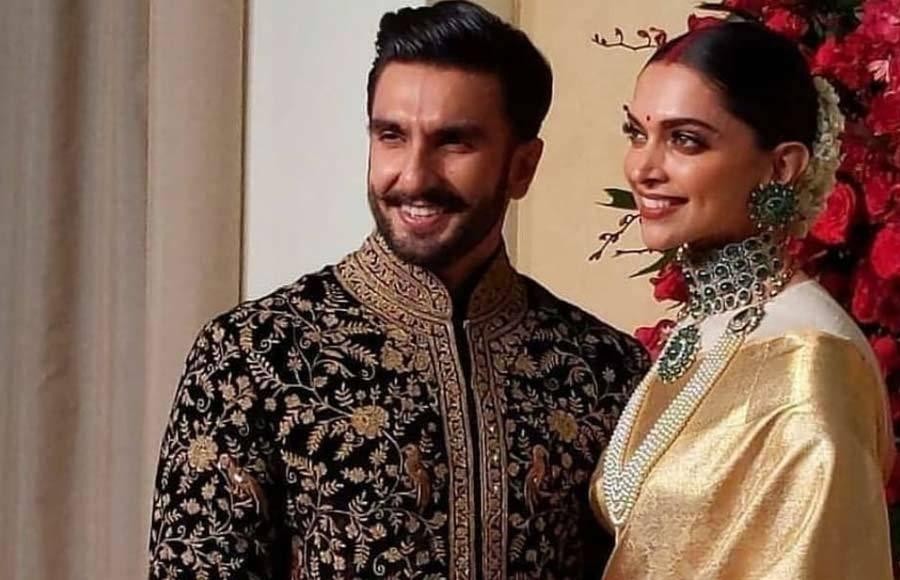Deepika and Ranveer's reception in Bangalore