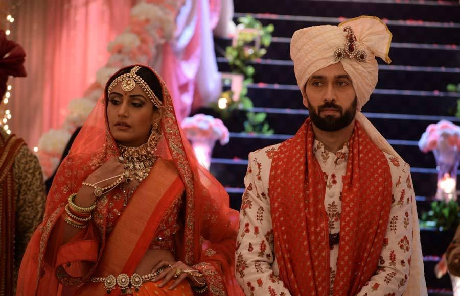 StarPlus' Ishqbaaaz: Wedding photo album