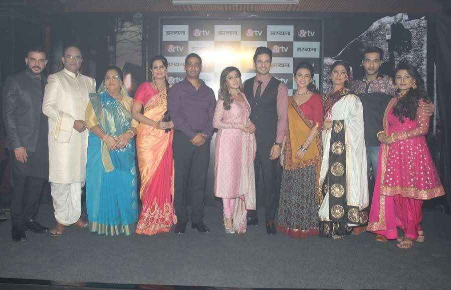 Spooky launch of &TV's Daayan