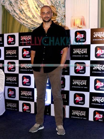 When ALTBalaji's Apharan cast met Naagin 3 team