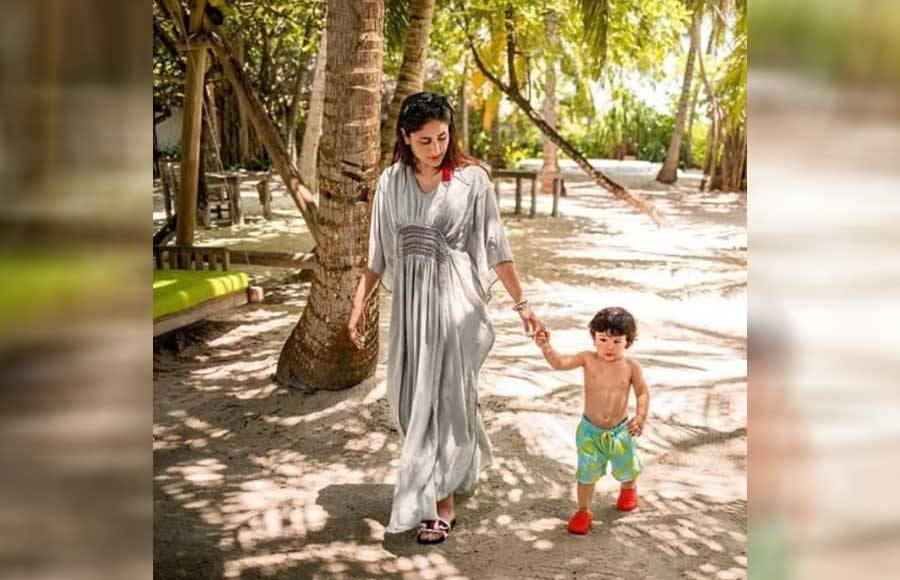 In pics: Taimur holidays with parents Saif and Kareena at Cape Town