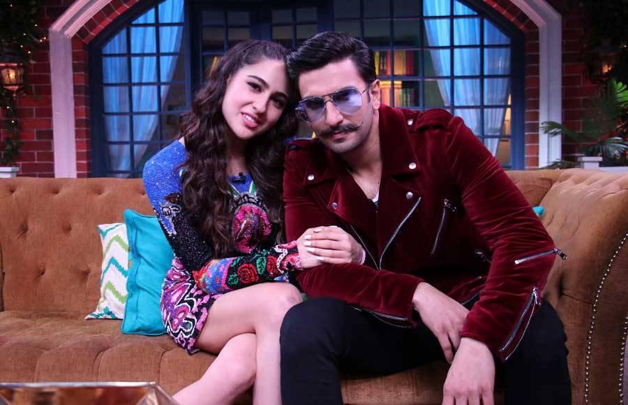 Sara, Ranveer and Sonu on The Kapil Sharma Show