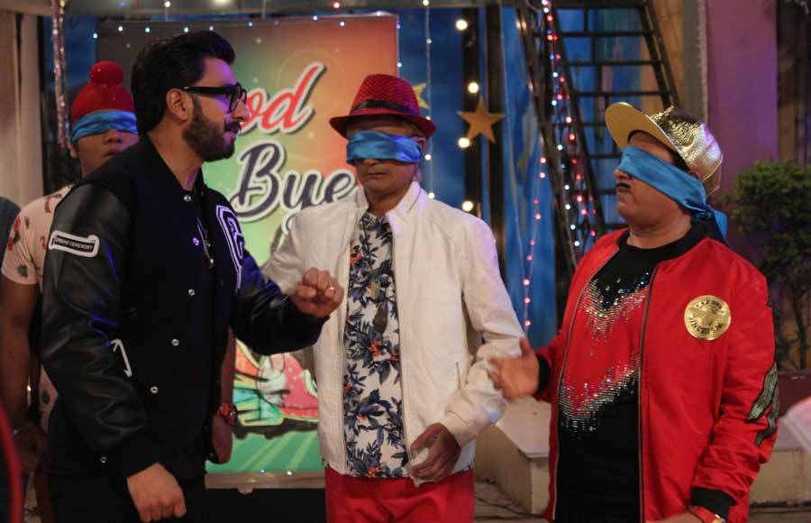 Fun times with Ranveer Singh in TMKOC